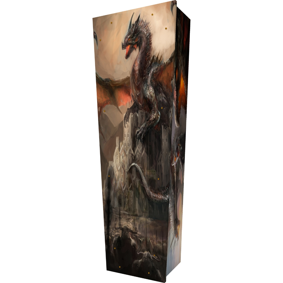 Fantasy Dragon Coffin