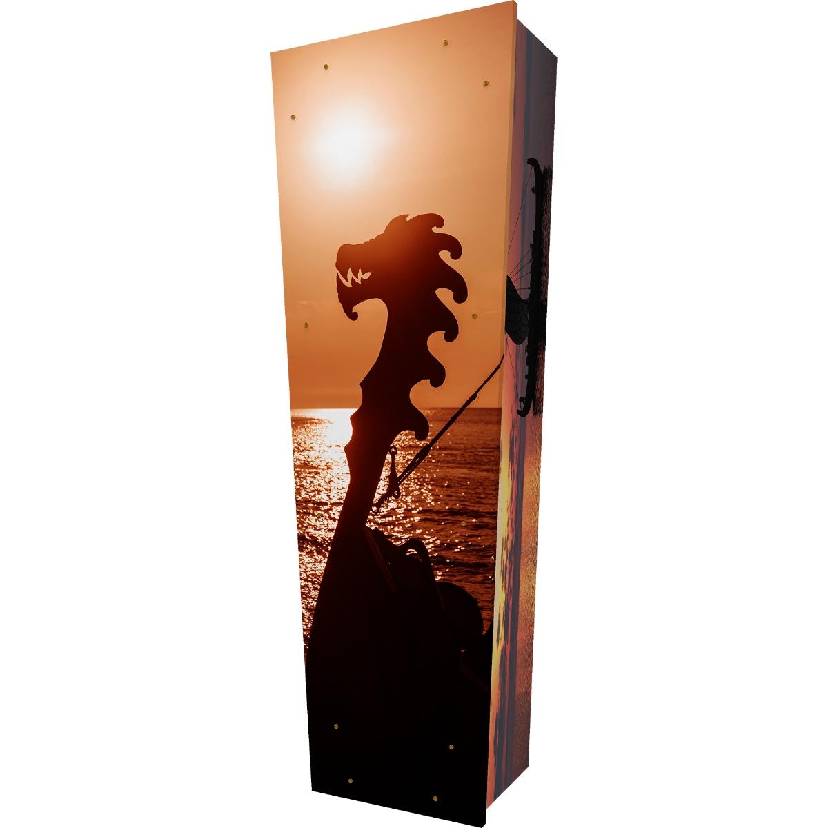 Viking Sunset Coffin