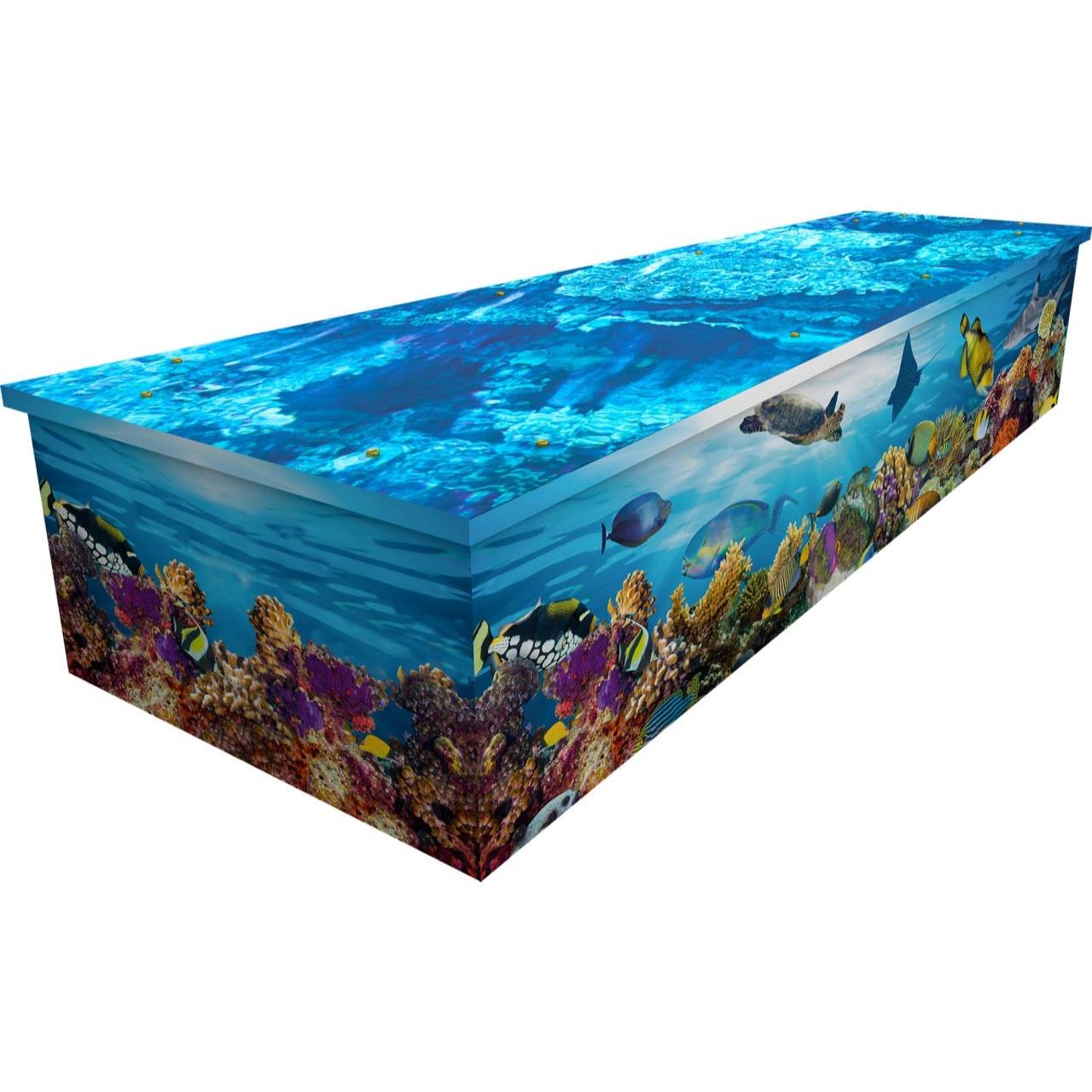 Undersea Cardboard Coffin