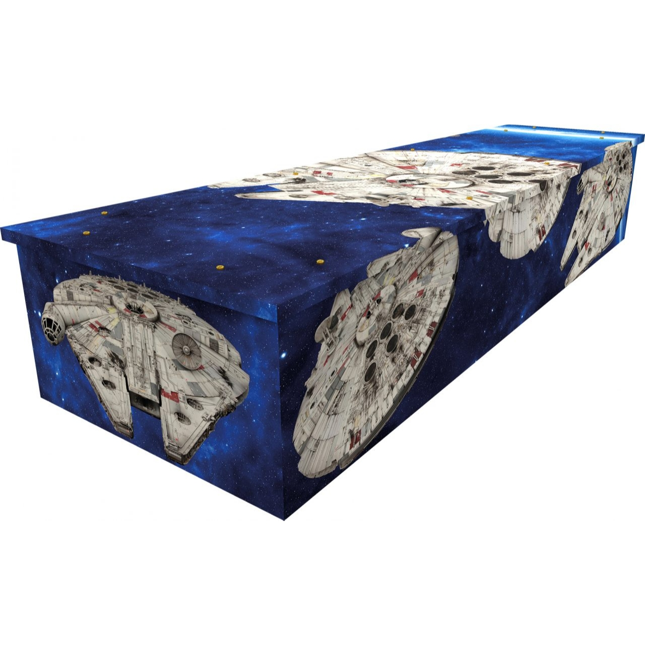 Star Explorer Cardboard Coffin