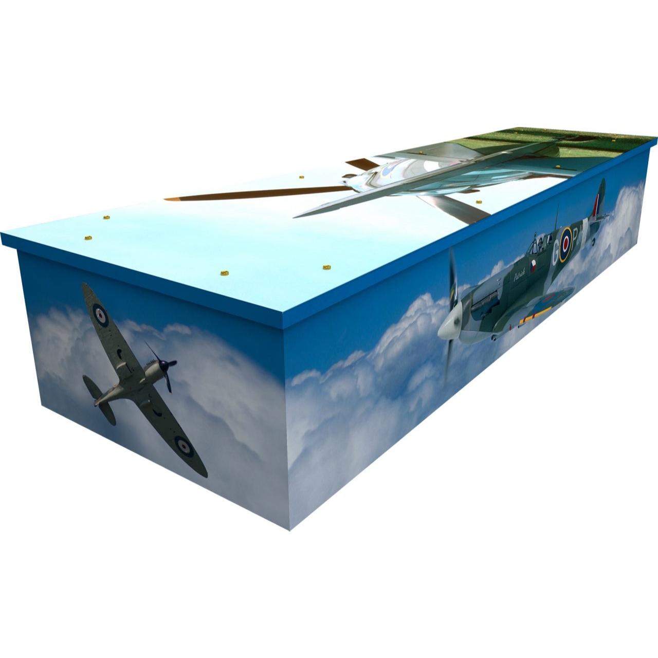 Spitfire Cardboard Coffin