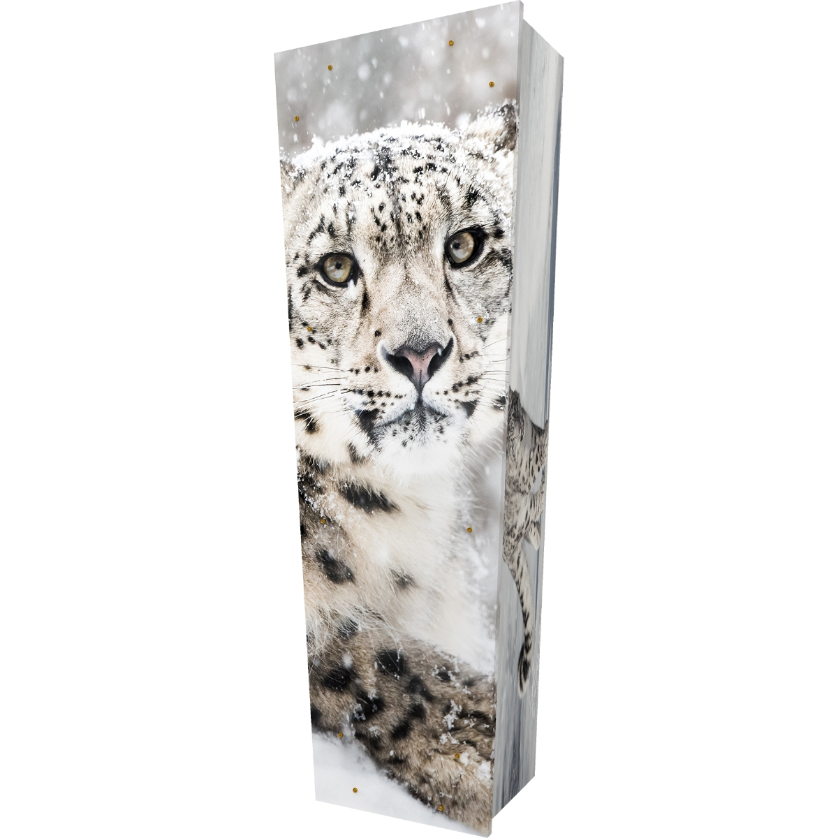 Snow Leopard Coffin