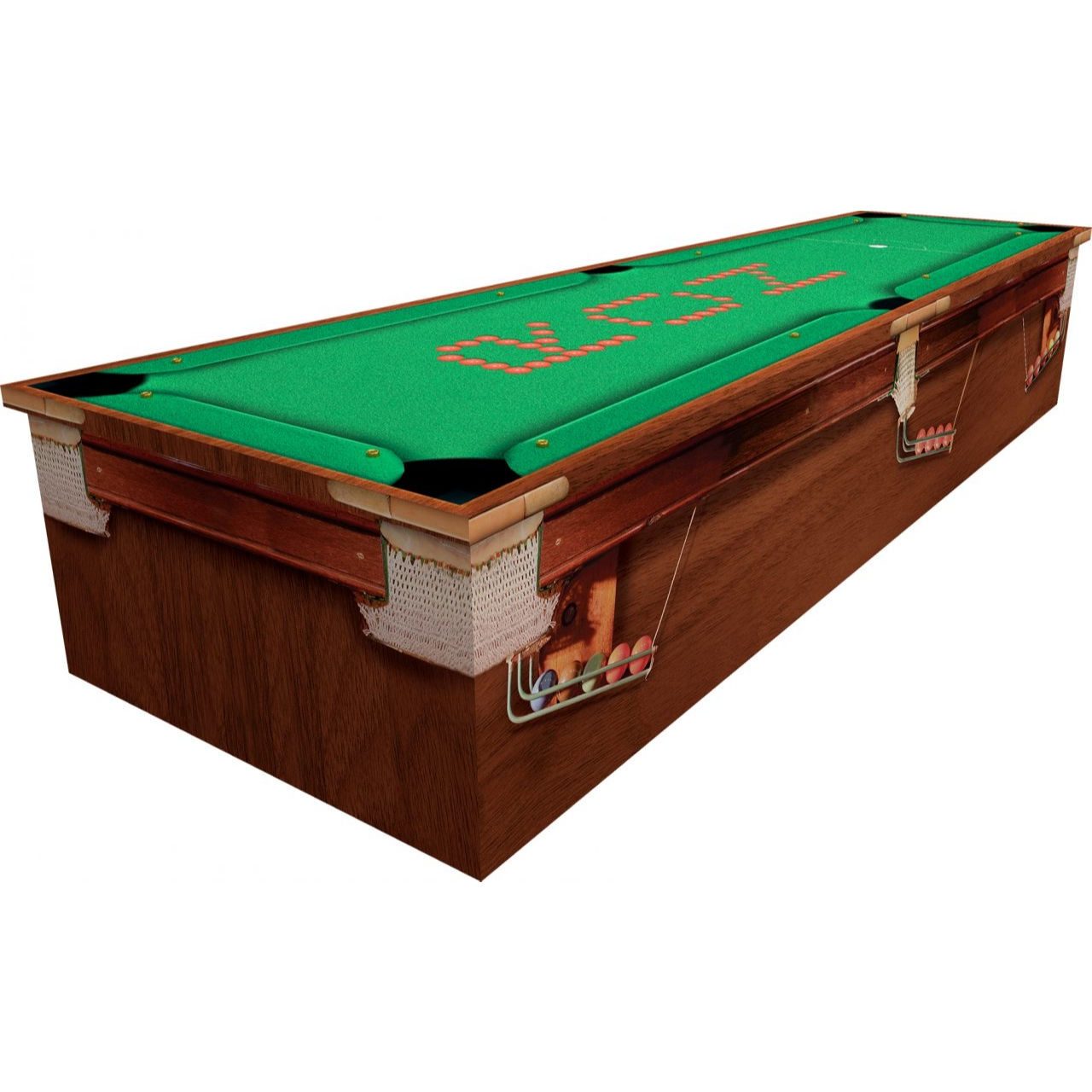 Snooker Cardboard Coffin