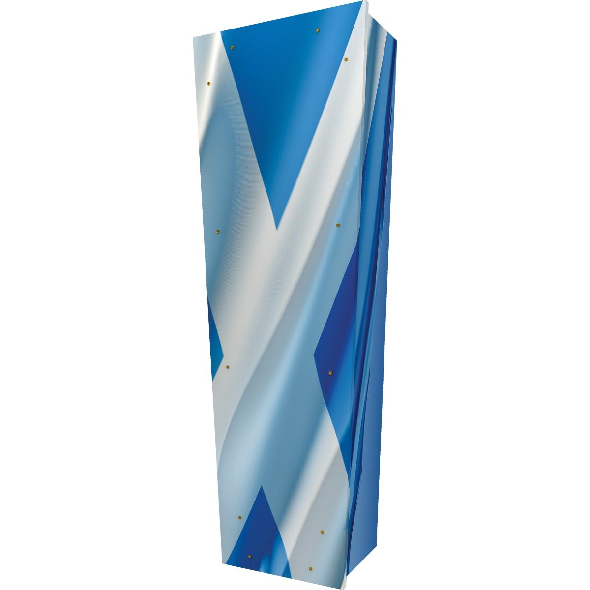 Scottish Flag Coffin