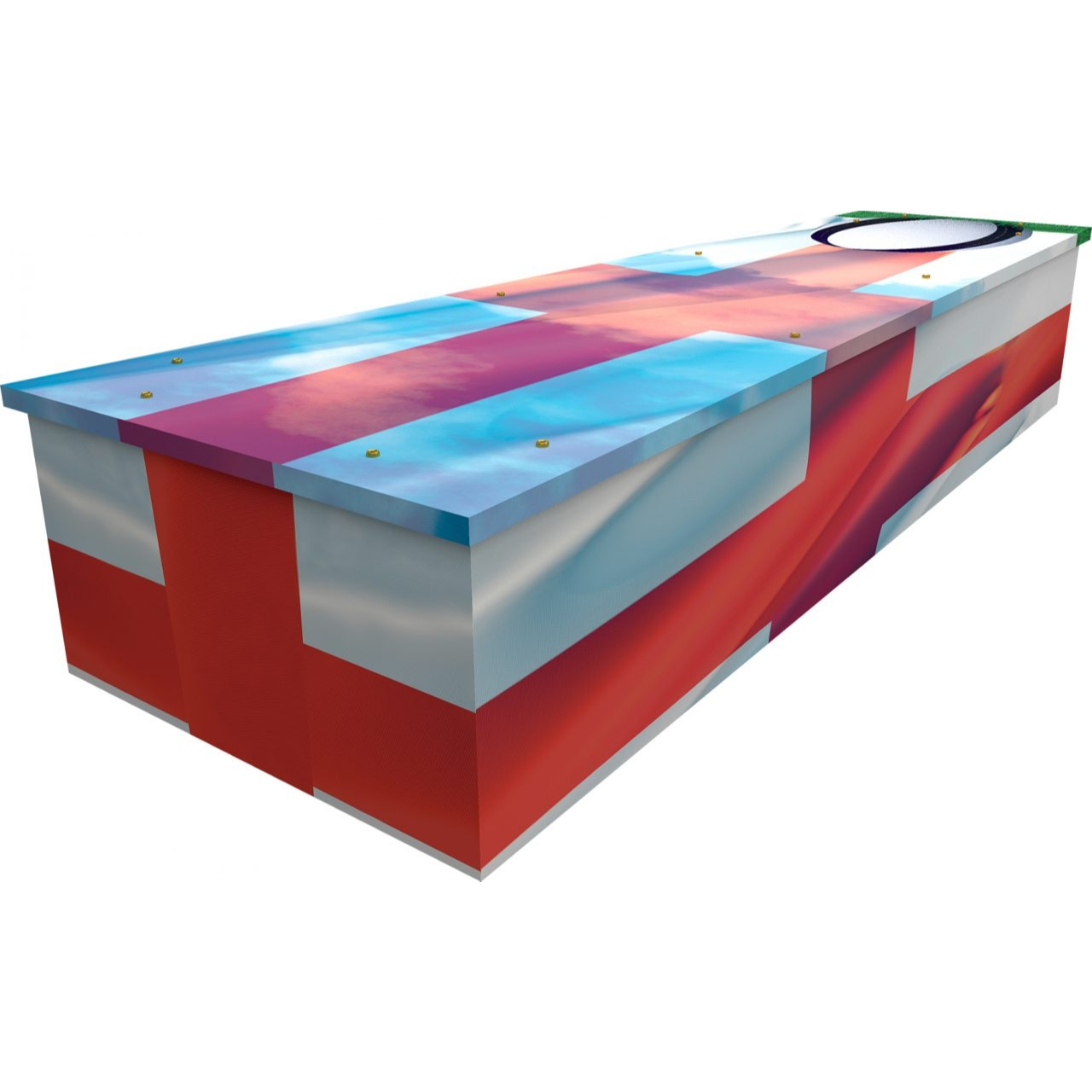 Rugby Cardboard Coffin