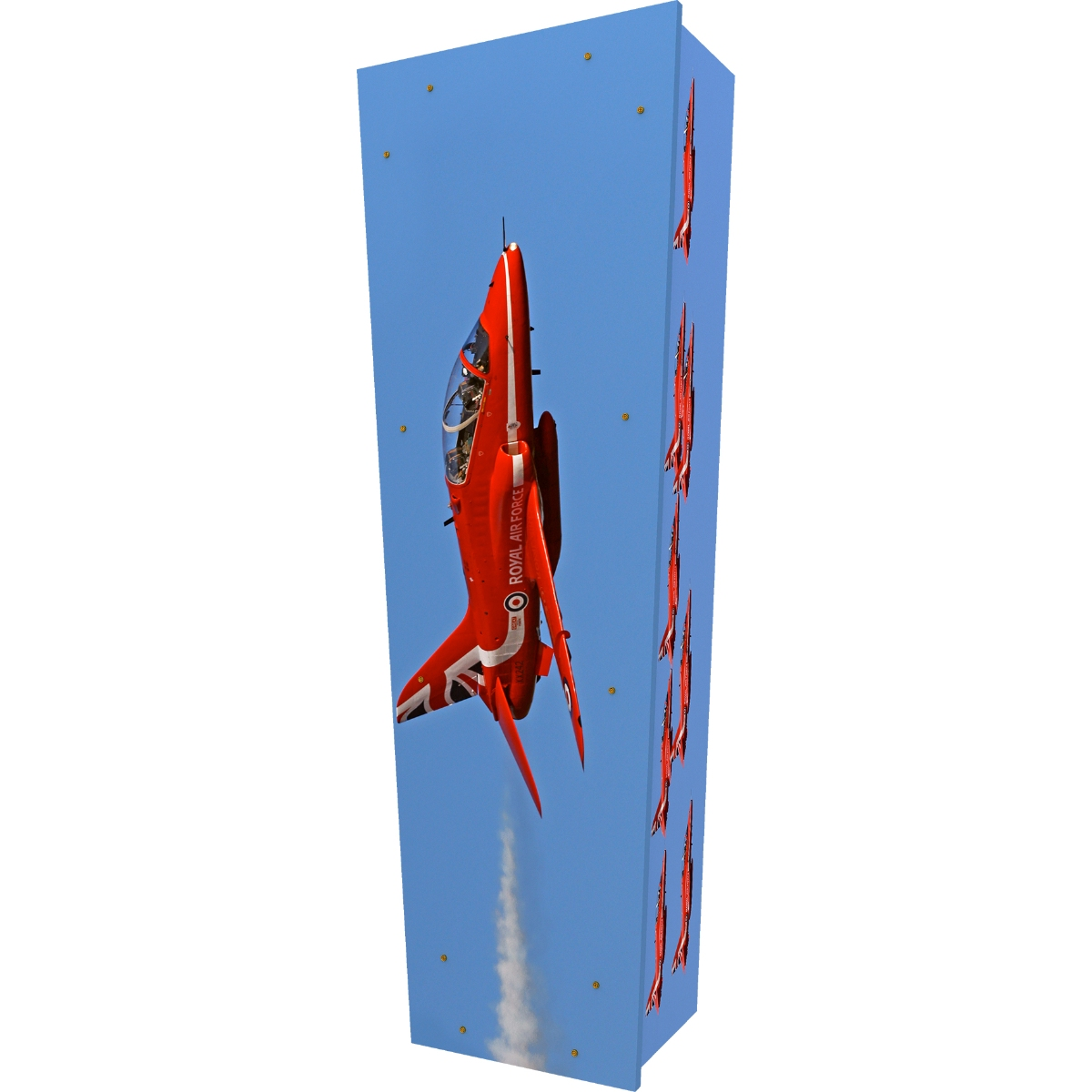 Red Arrows Coffin