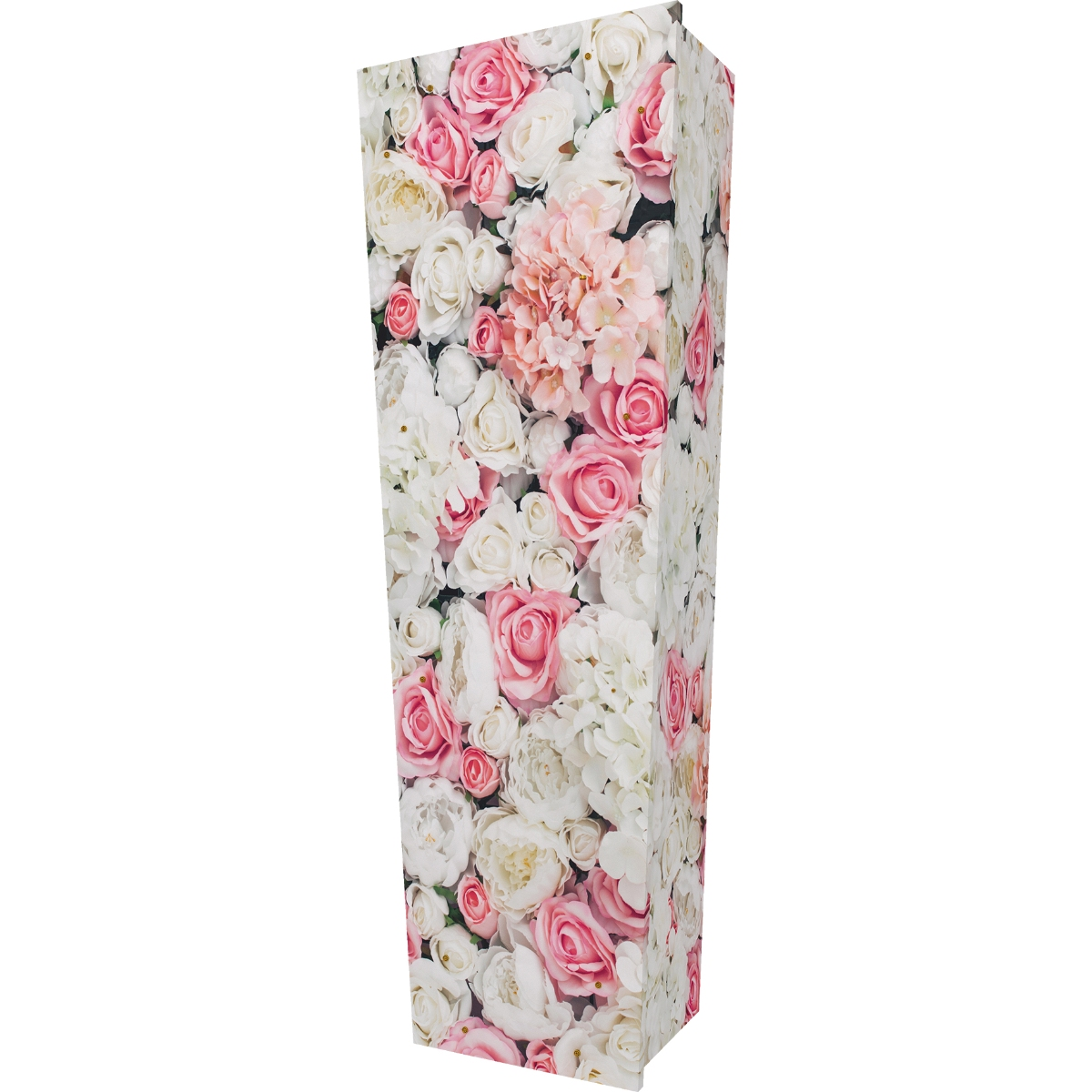 Pink Rose Wall Coffin