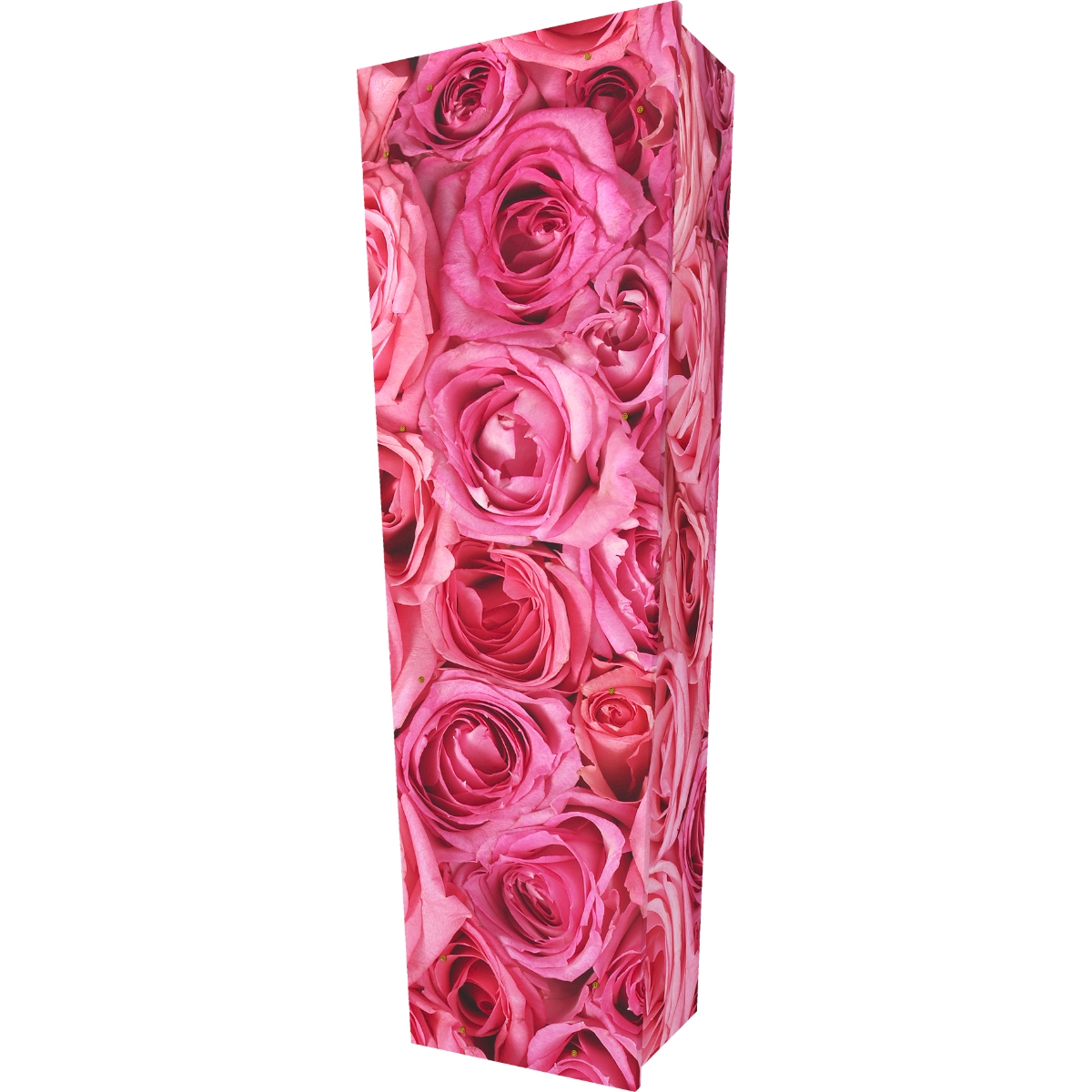 Pink Rose Coffin