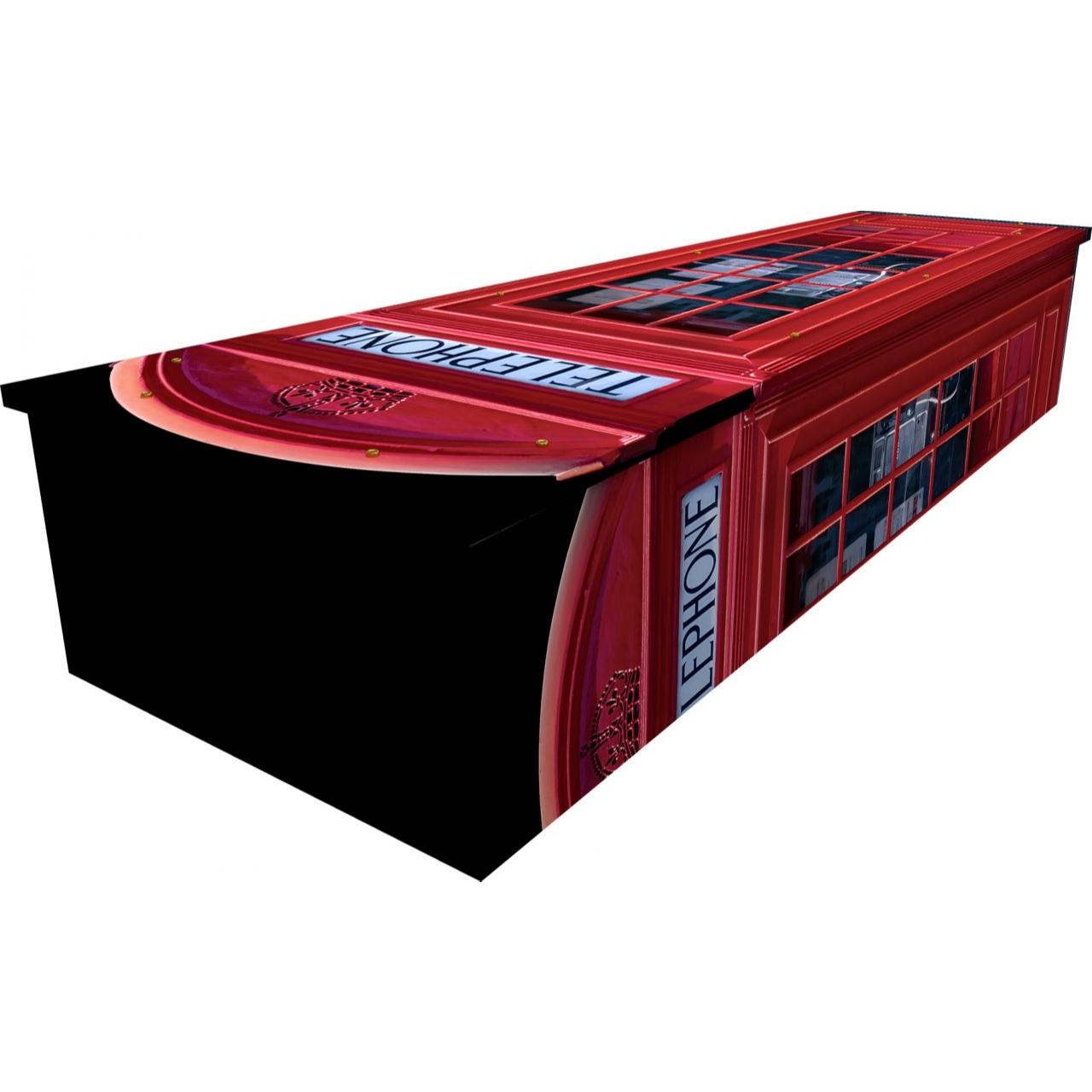 Phone Box Cardboard Coffin