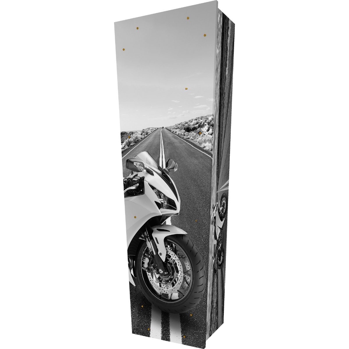 Motorcycle Coffin