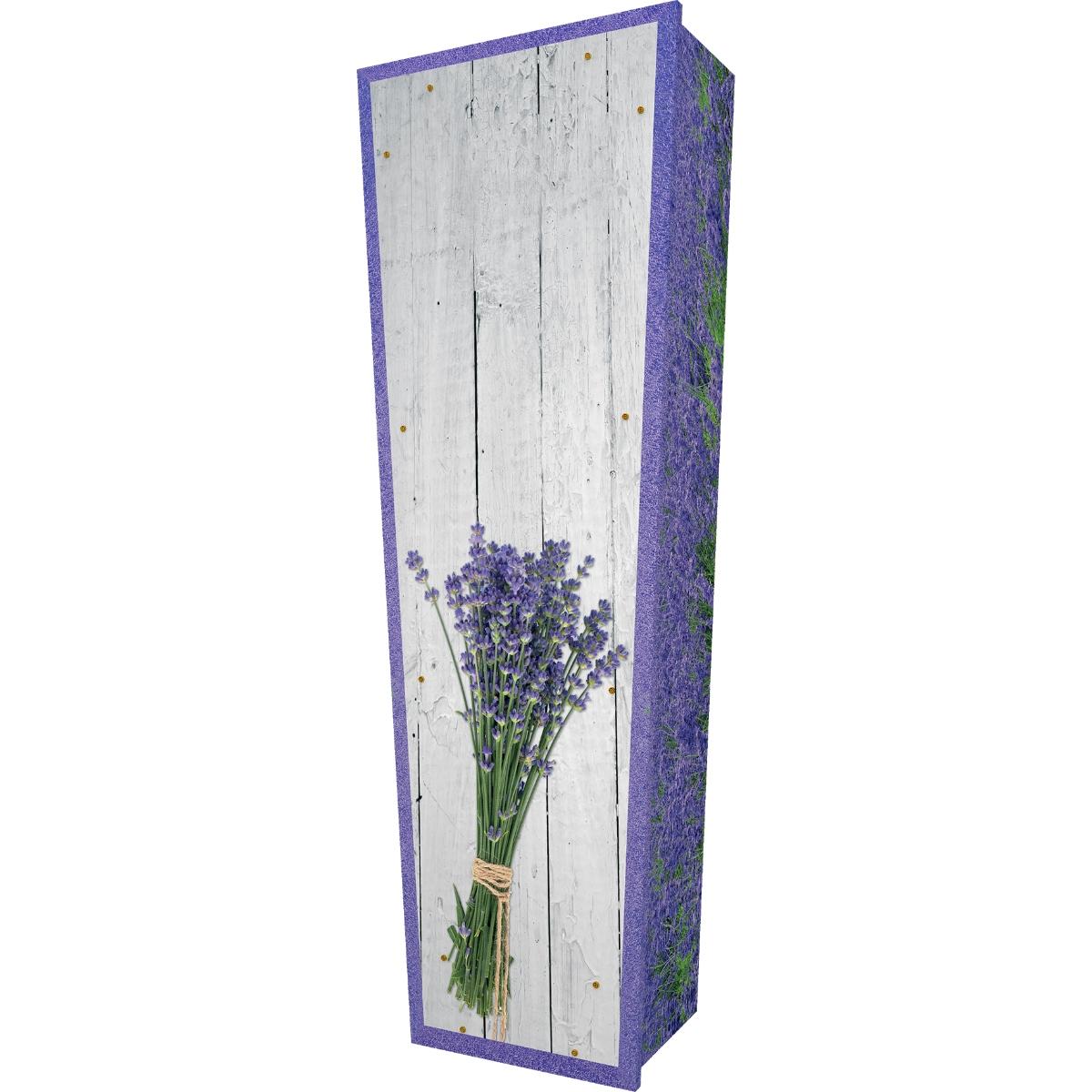 Lavender Coffin