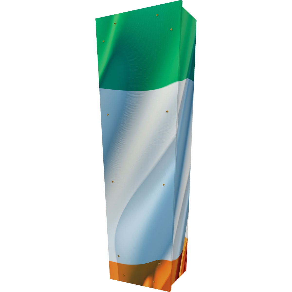 Irish Flag Coffin