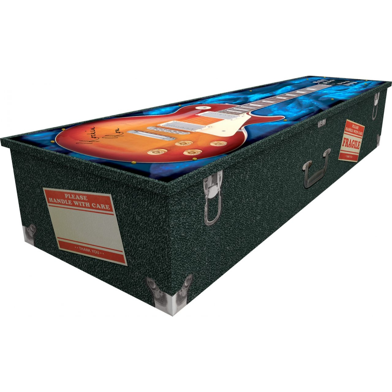 Guitar Cardboard Coffin