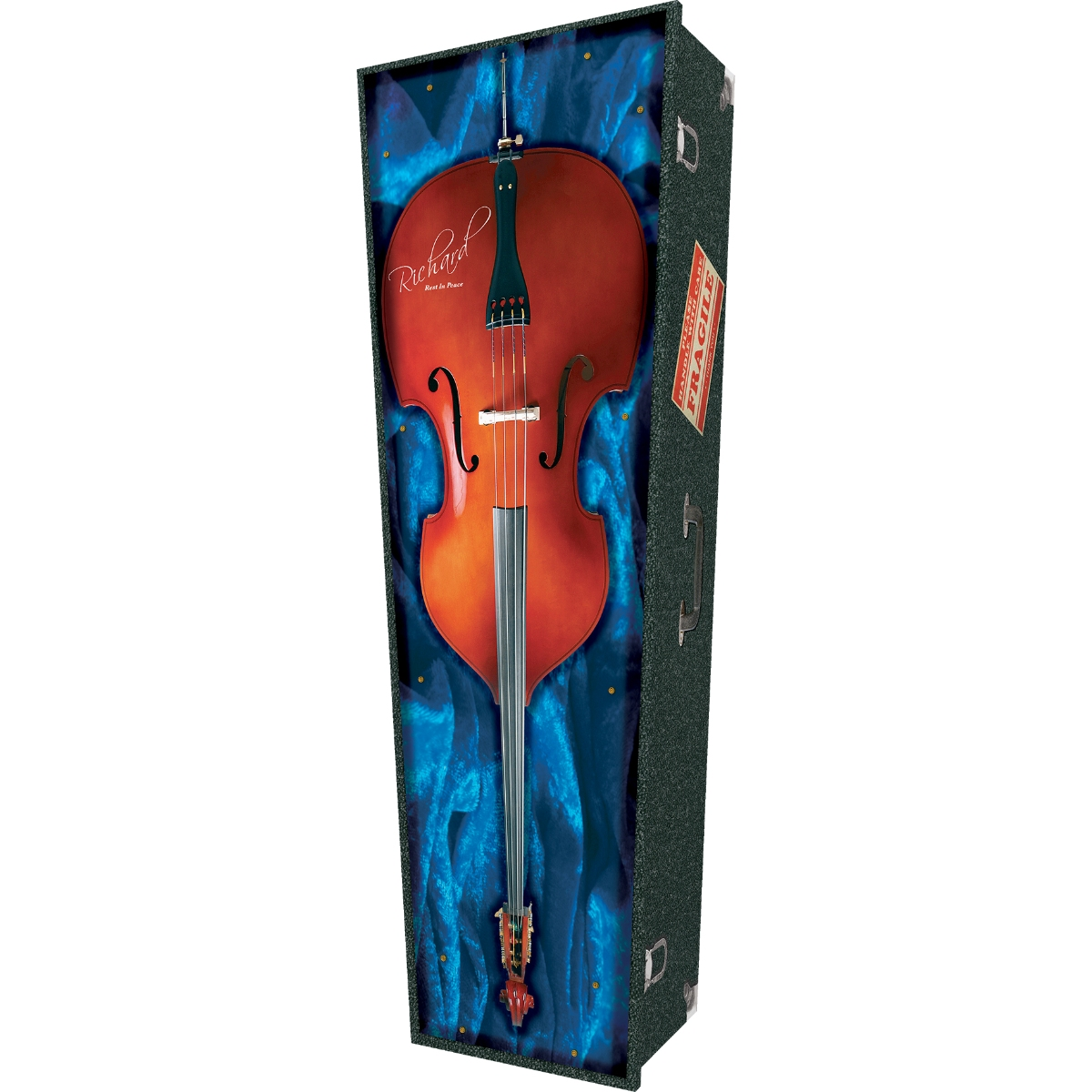 Double Bass Coffin