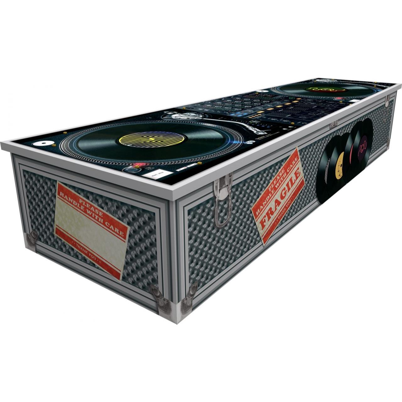 DJ Cardboard Coffin