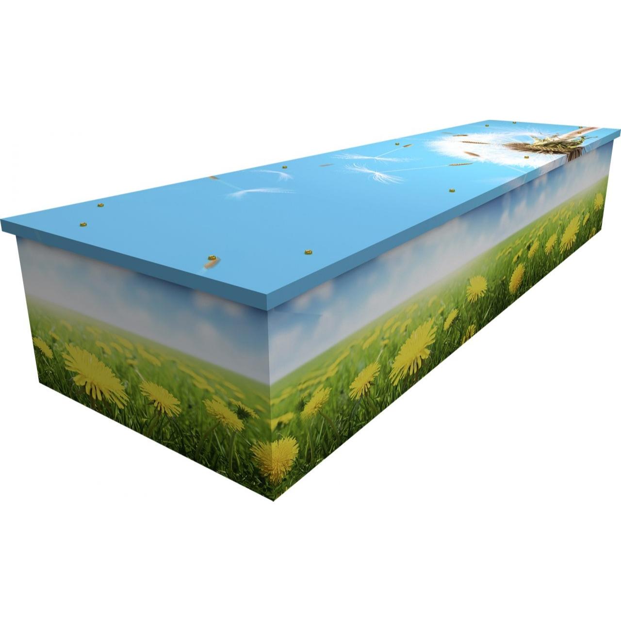 Dandelion Cardboard Coffin