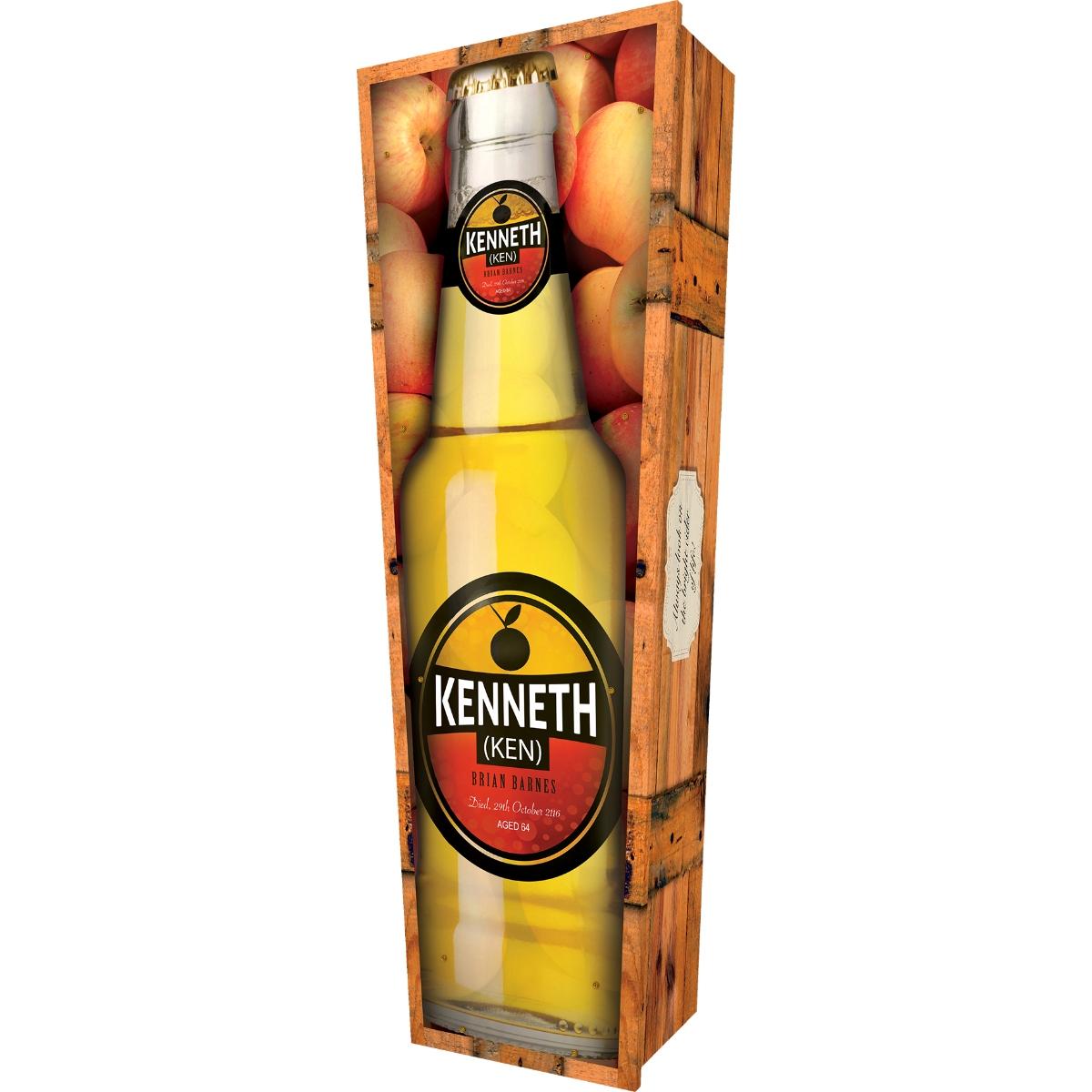 Cider Bottle Coffin