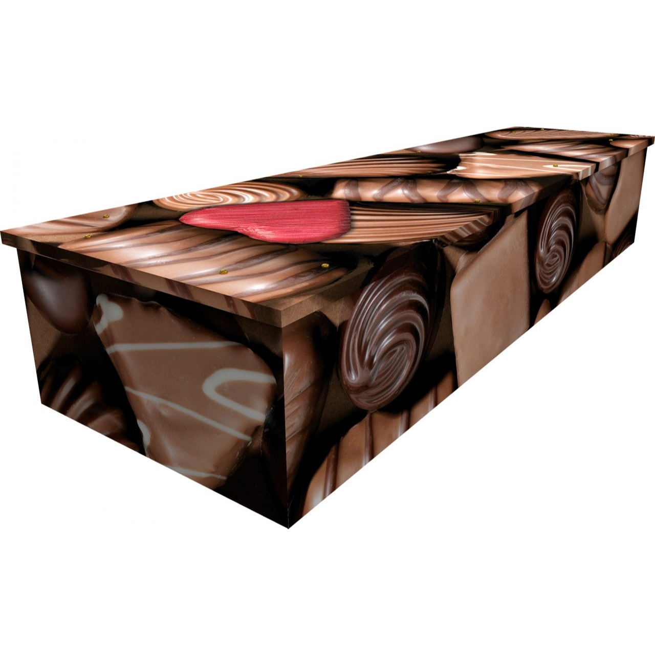 Chocolates Cardboard Coffin