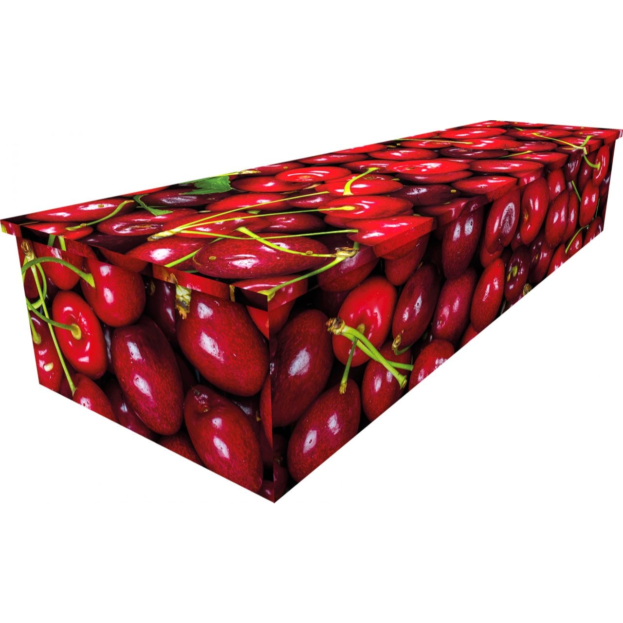 Cherries Cardboard Coffin