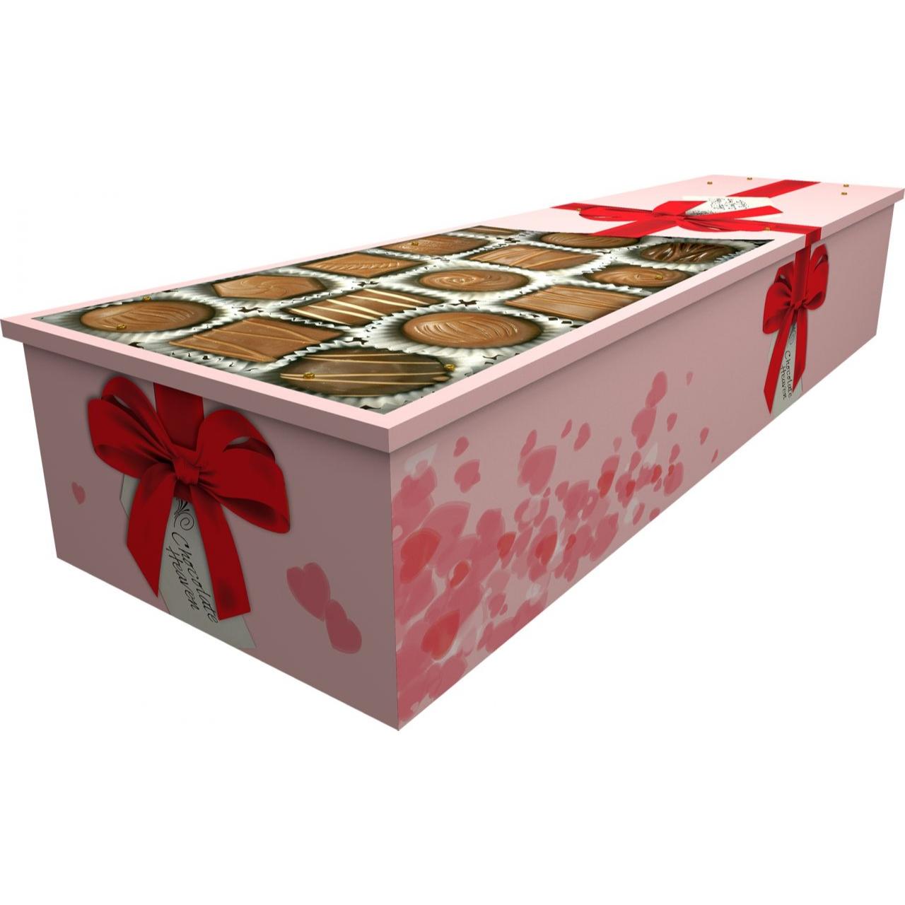 Chocolate Box Cardboard Coffin