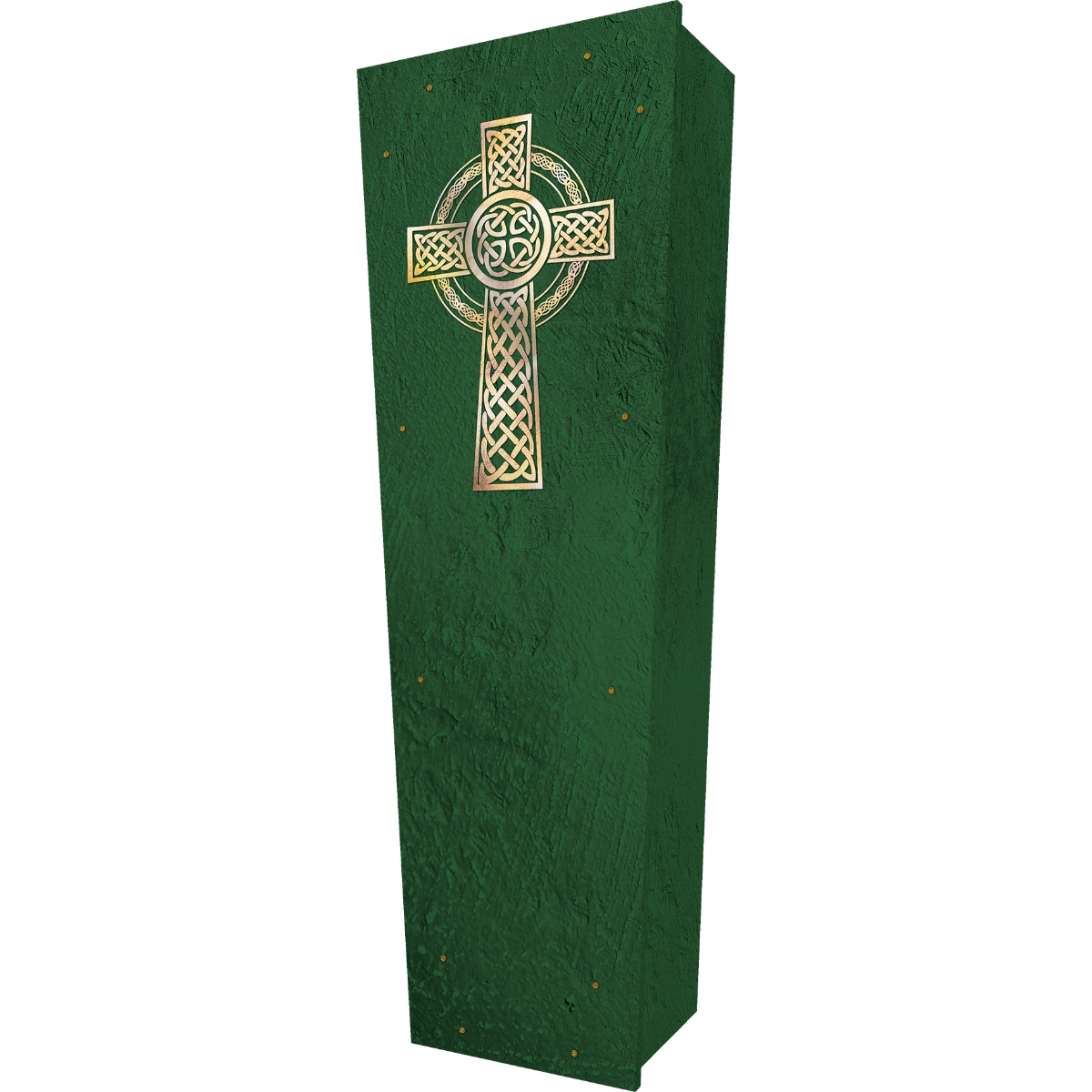 Celtic Cross Coffin