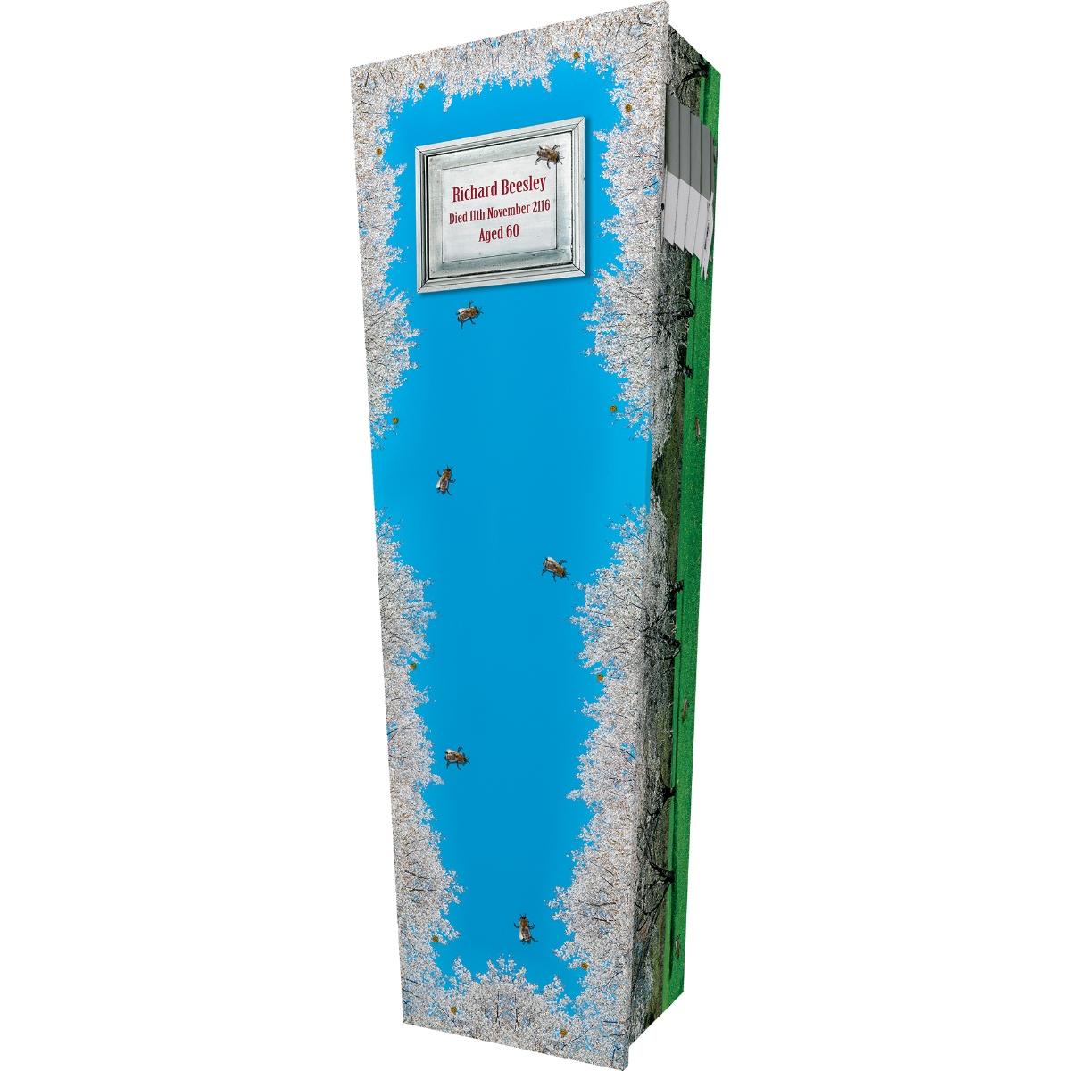 Bee Keeper Cardboard Coffin
