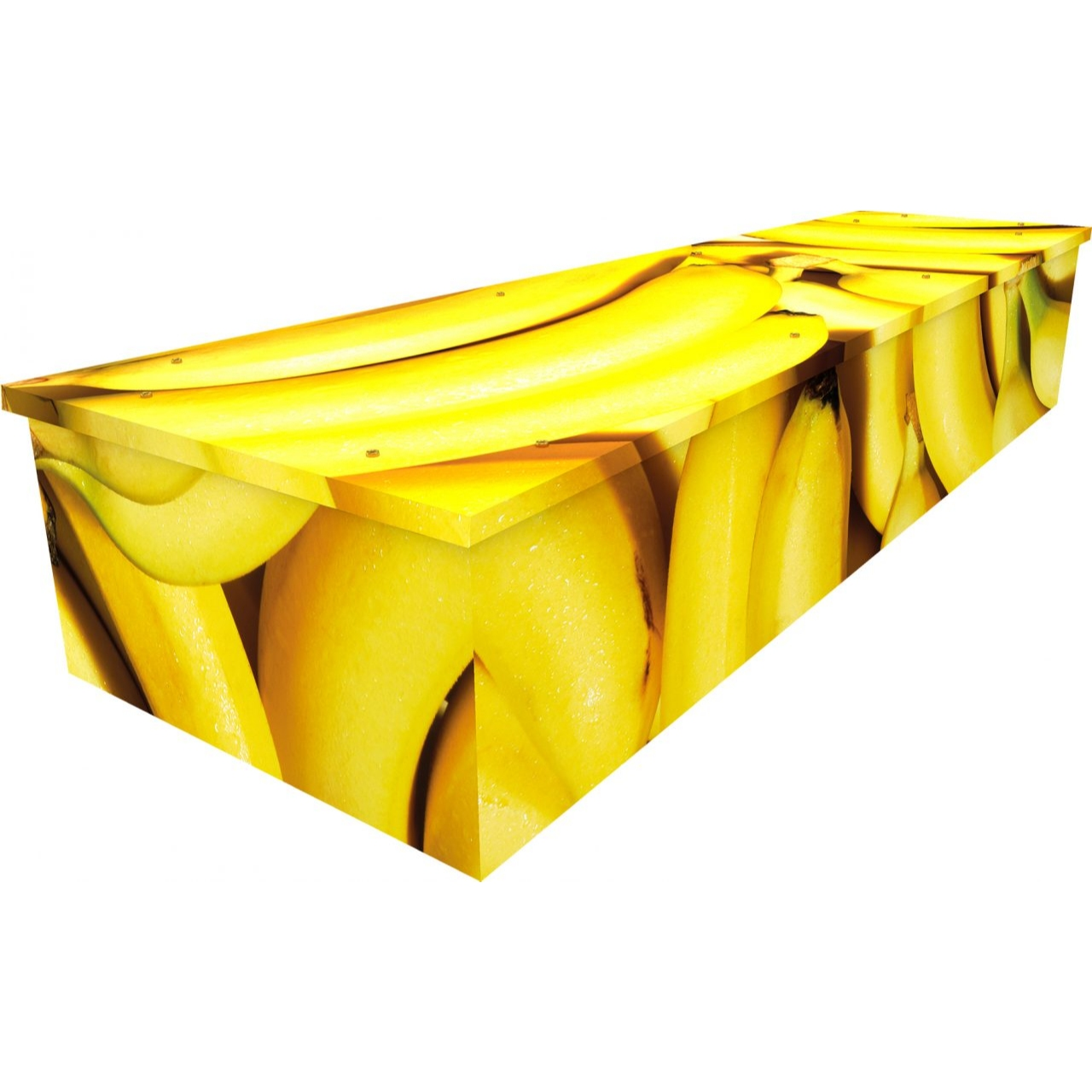 Bananas Cardboard Coffin