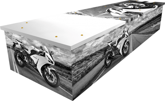 Motorcycle Coffin - Side