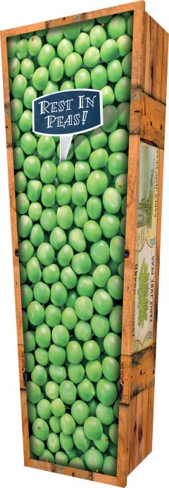 Peas Coffin - Standing