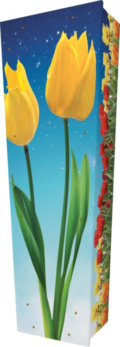 Tulips Coffin - Standing