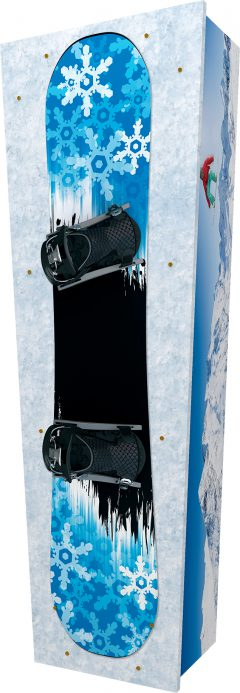 Snowboarding Coffin - Standing