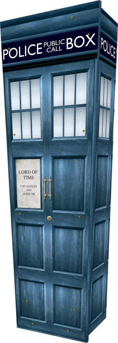 Police Box Coffin - Standing