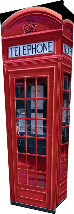 Phone Box Coffin - Standing