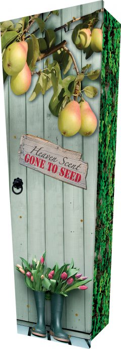 Pear Tree Coffin - Standing