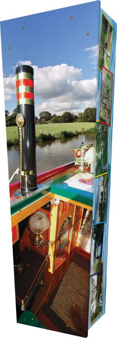 Narrowboat Coffin - Standing