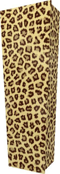 Leopard Coffin - Standing