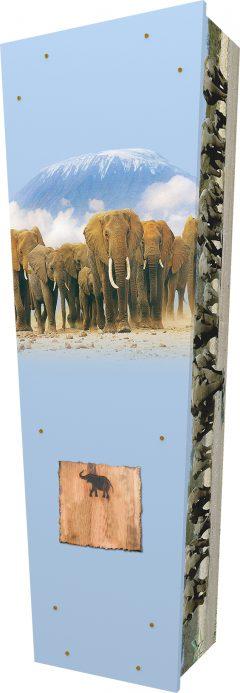 Elephants Coffin - Standing