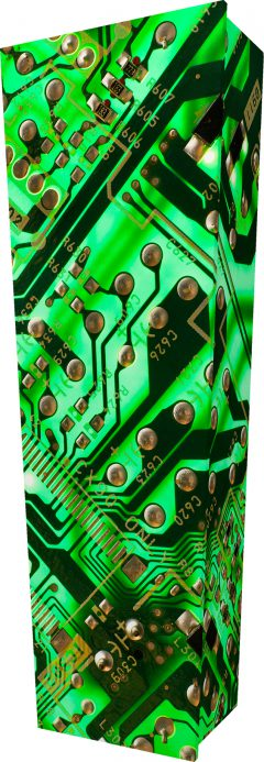 Circuit Board Coffin - Standing