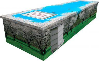 Beekeeper Cardboard Picture Coffin