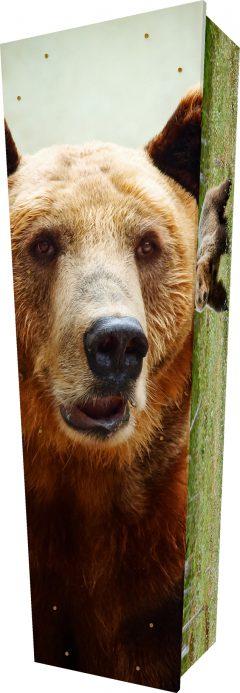 Bear Coffin - Standing