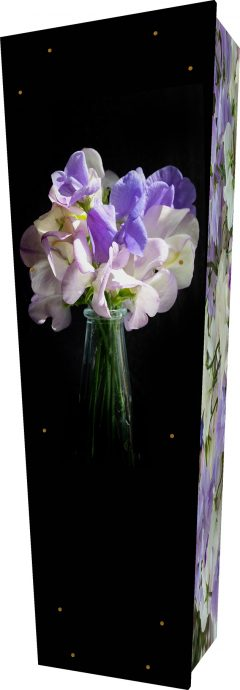 Sweet Pea Coffin - Standing