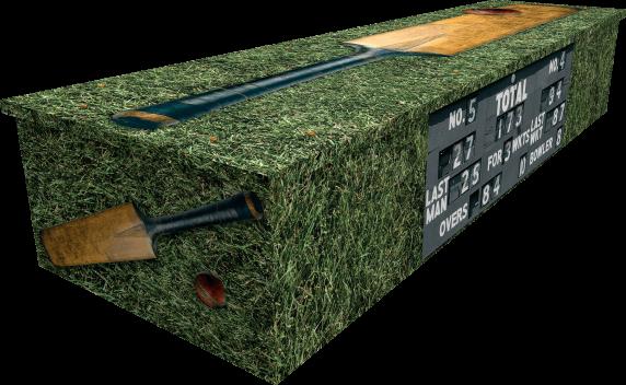 Cricket Coffin - Side